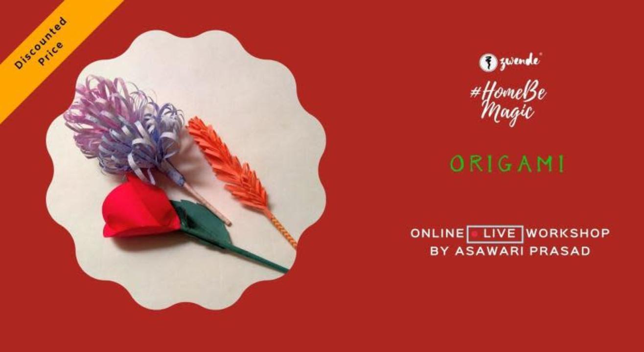 Origami [Online Live Workshop]