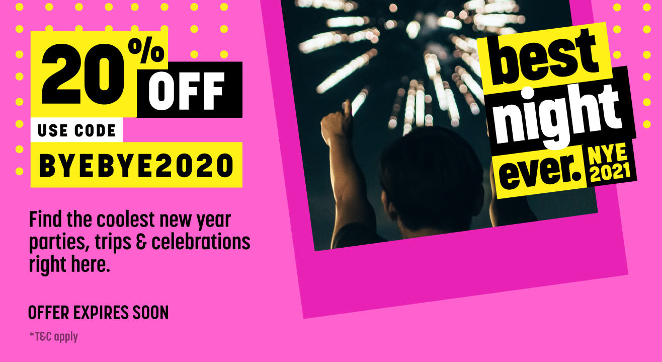 What to do on New Year's Eve 2020-2021 in Bangalore
