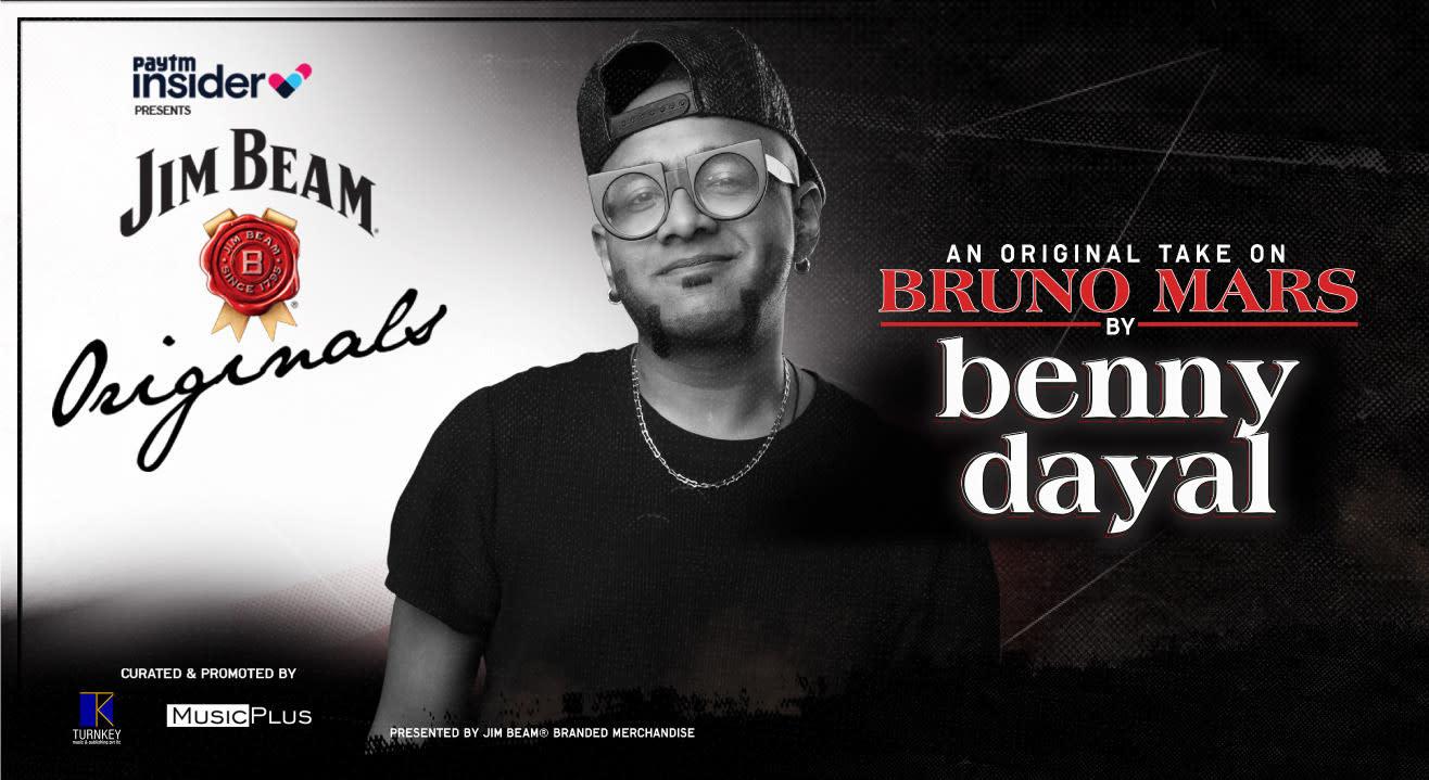 Benny Dayal's original take on Bruno Mars   Paytm Insider presents Jim Beam Originals