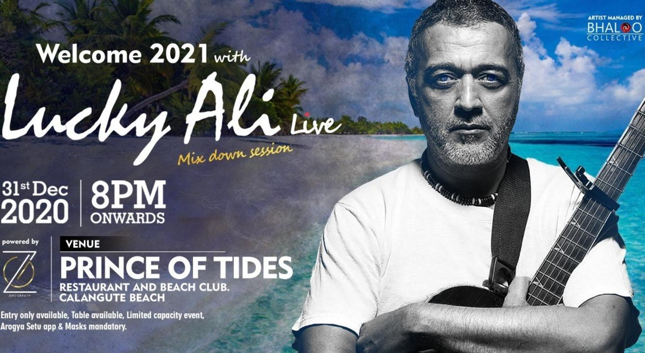 Lucky Ali Live Mix Down Session (New Year 2021) Full Moon Festival Edition 2
