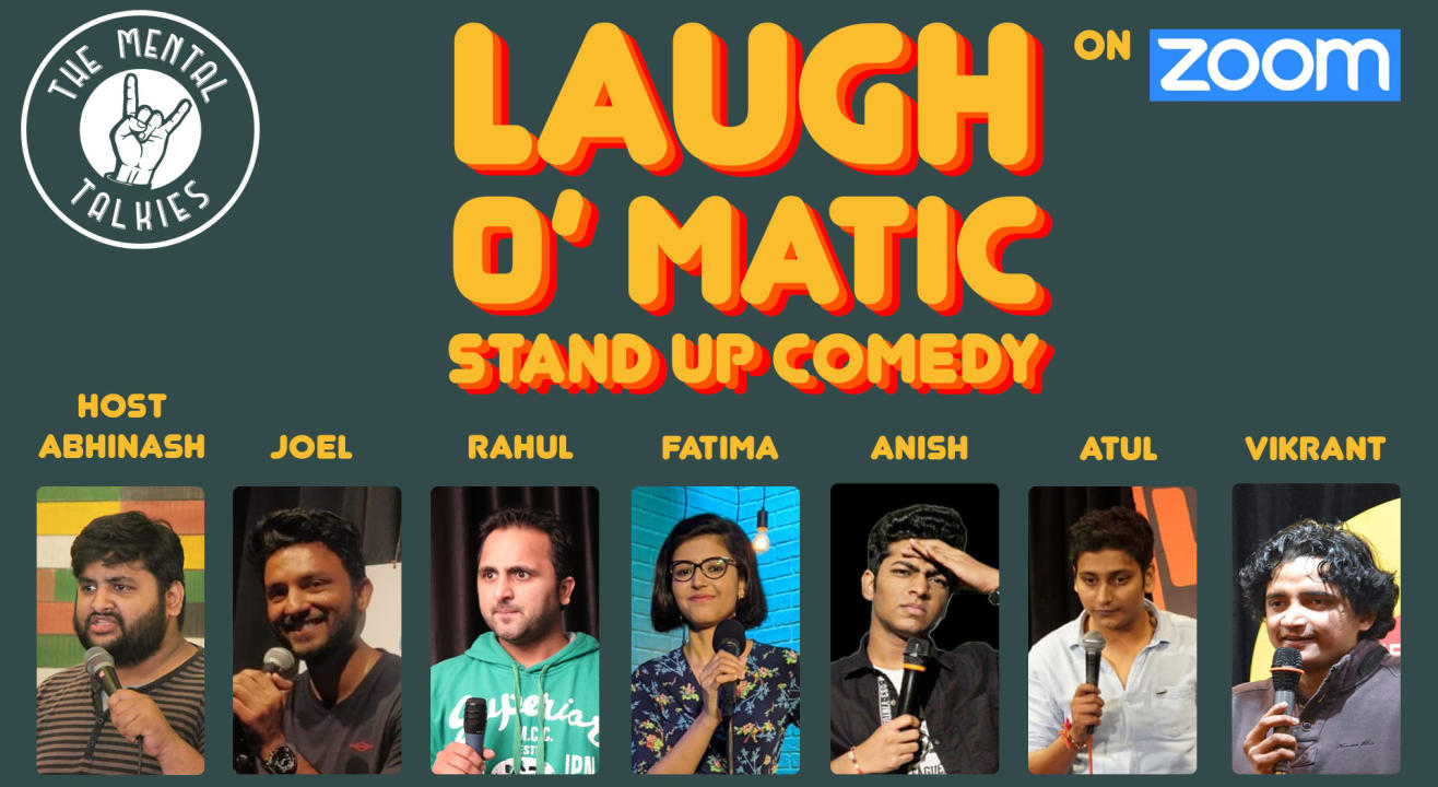 Laugh O Matic-Stand Up Comedy
