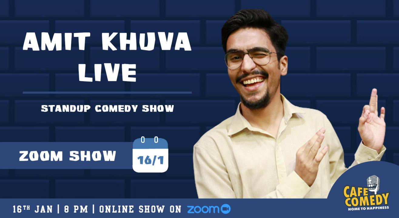 Amit Khuva Live On Zoom
