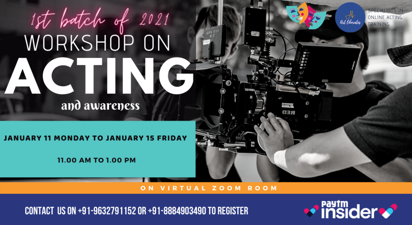 Acting Workshop By Art Liberates (Morning)