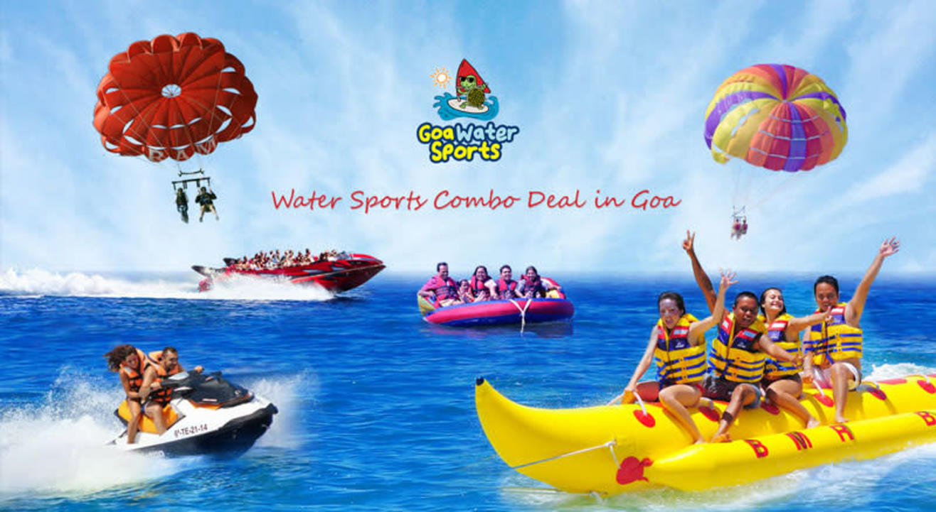 Water Sports in Goa - Combo Deal