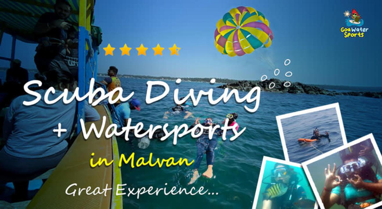 Scuba Diving + Water Sports in Malvan - 2021 | Combo Deal