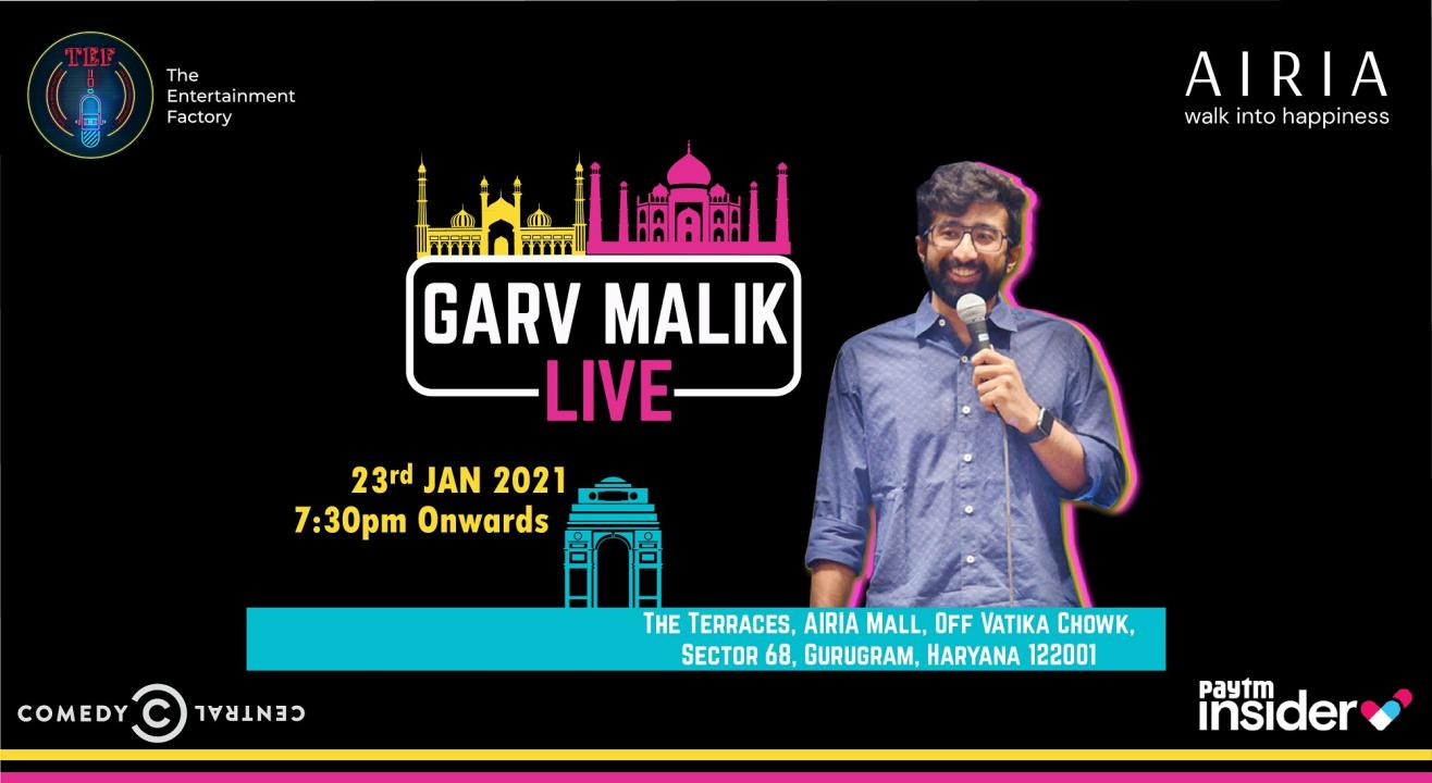 Garv Malik Live