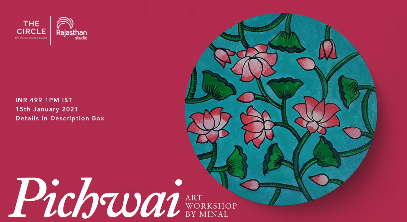 Pichwai Art Workshop by Rajasthan Studio