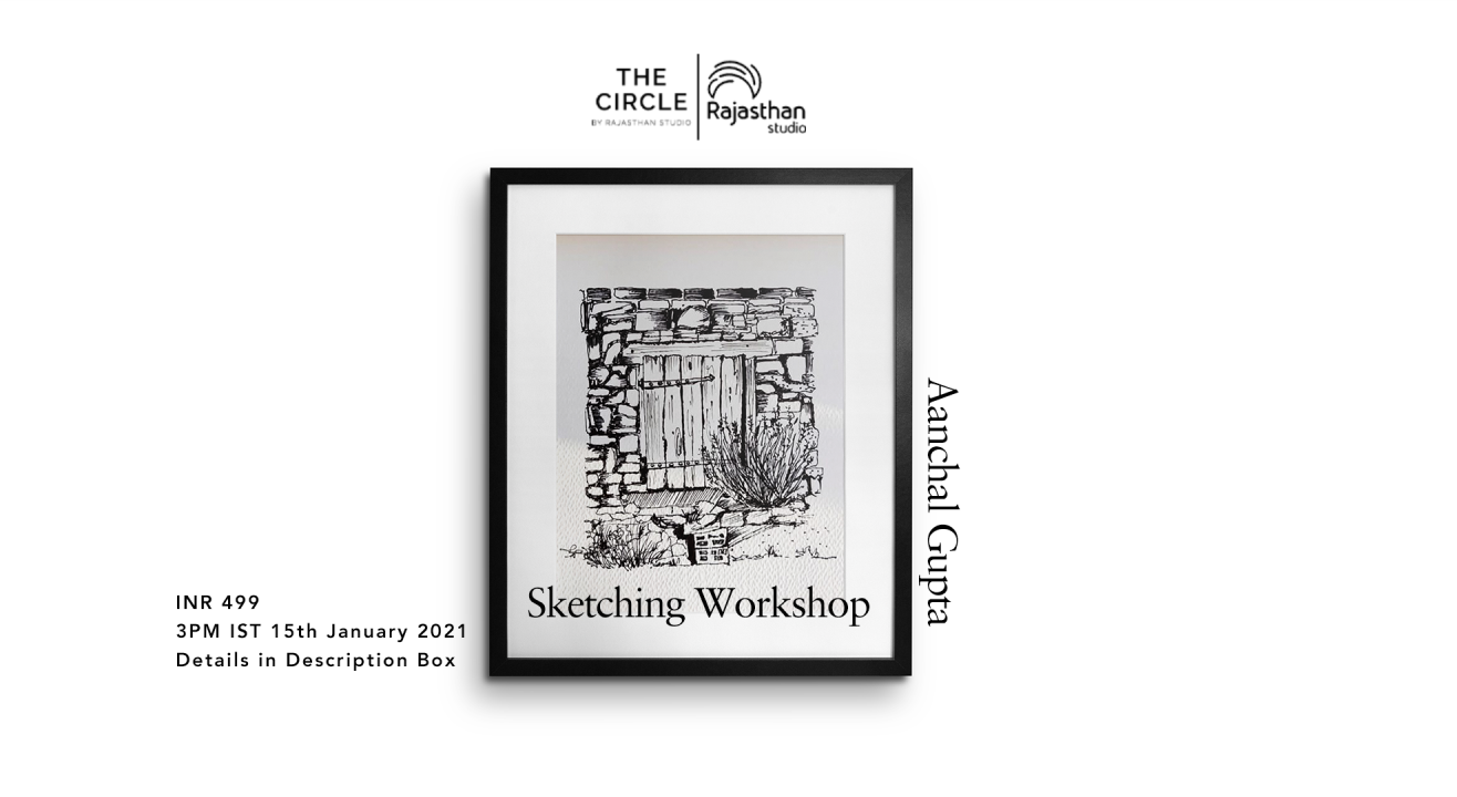 Sketching Workshop by Rajasthan Studio