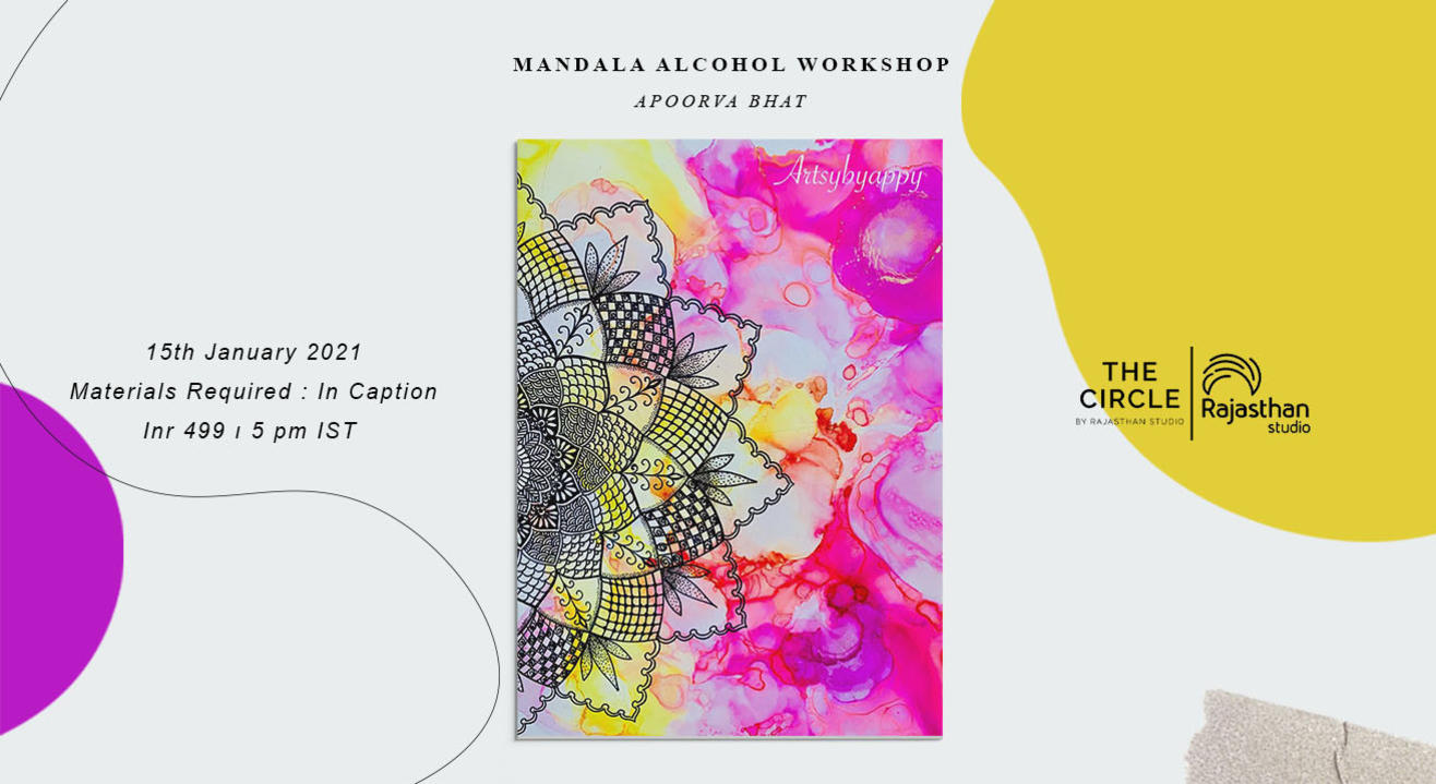 Mandala Alcohol Workshop by Rajasthan Studio