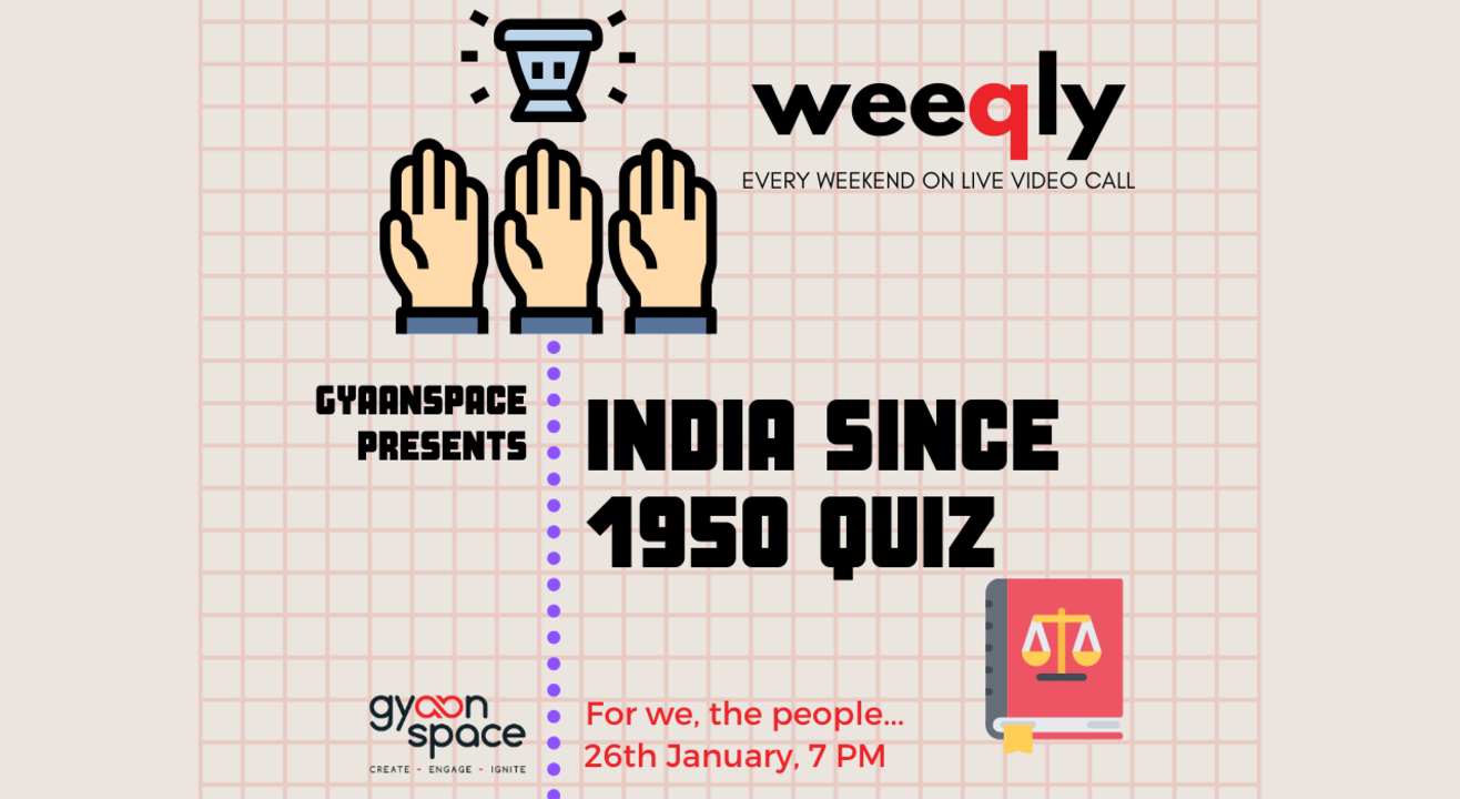 Weeqly- India Since 1950 Quiz