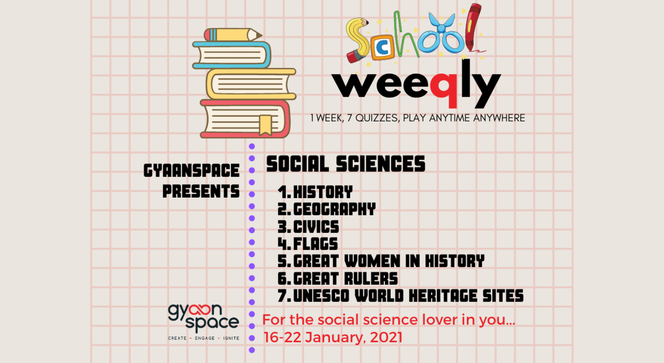 The Social Sciences Quiz series for school students (Open till 22nd January 11:59 PM)