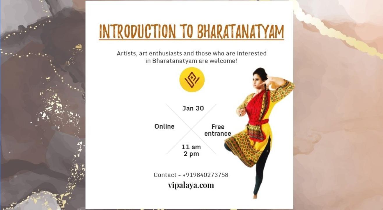Introduction to Bharatanatyam with Vidhya RG