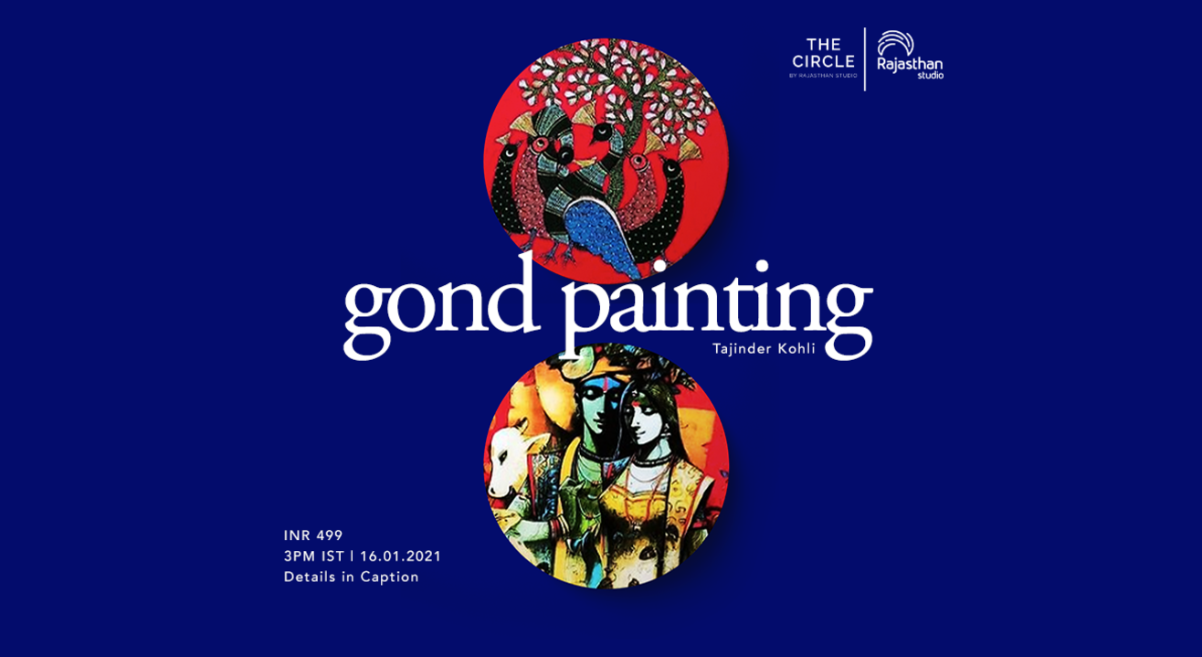 Gond Painting Workshop by Rajasthan Studio