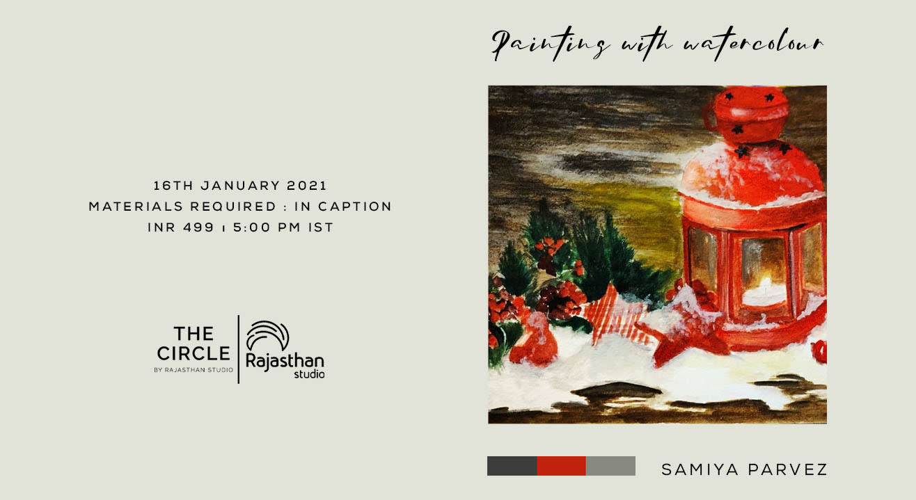 Painting with Watercolor Workshop by Rajasthan Studio