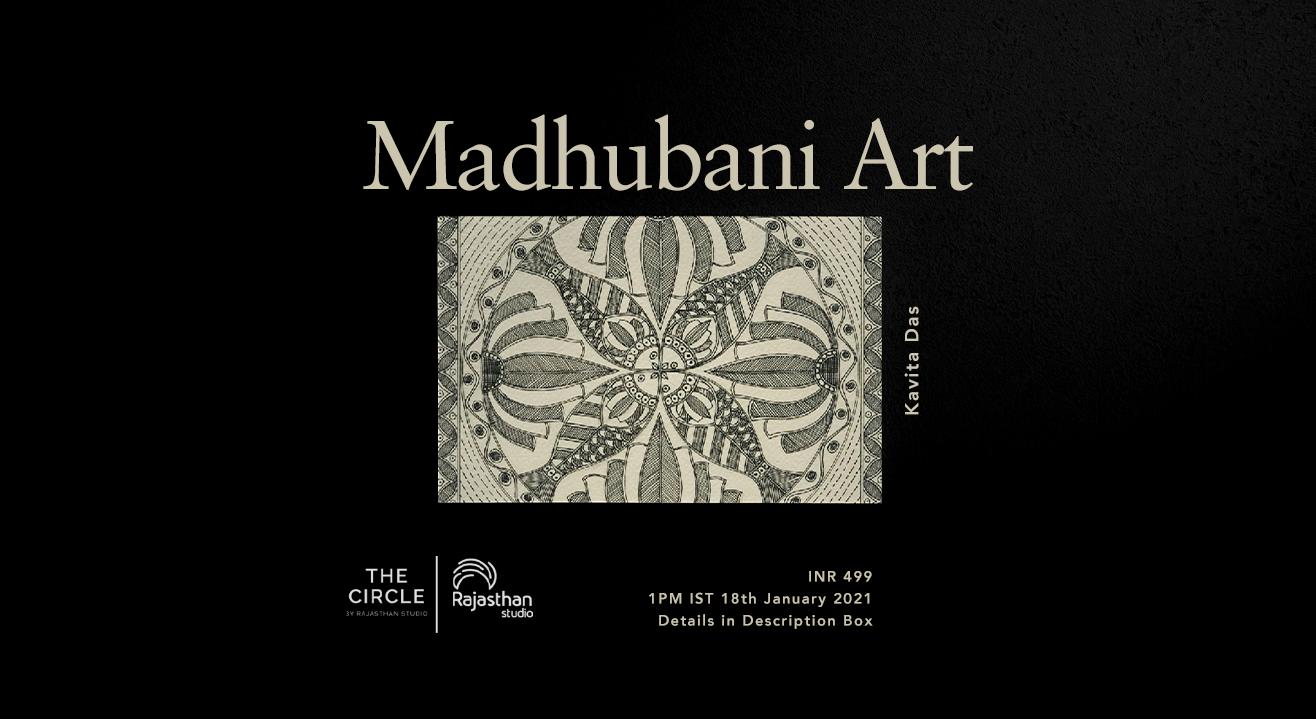 Madhubani Art Workshop by Rajasthan Studio