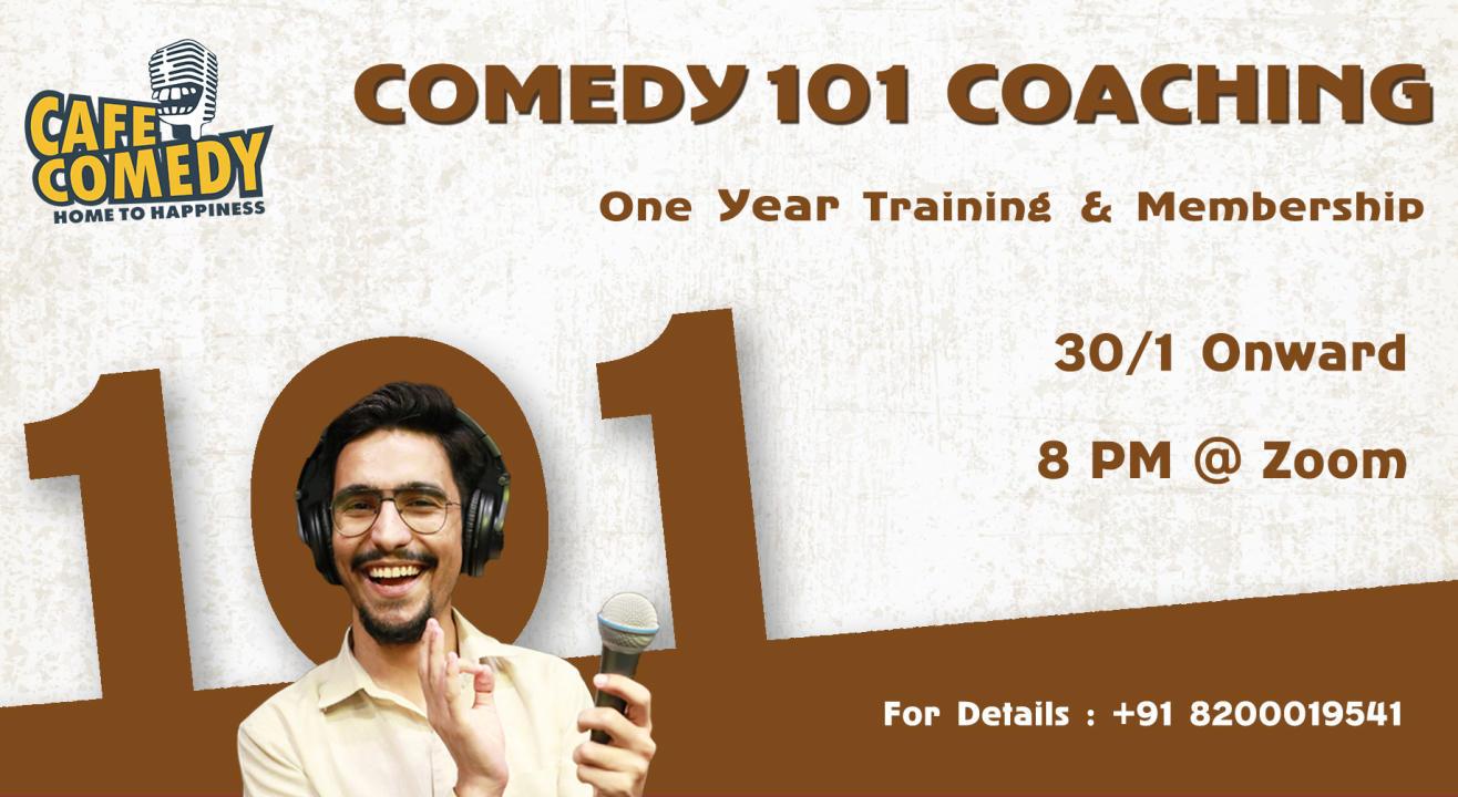 Comedy 101 Coaching