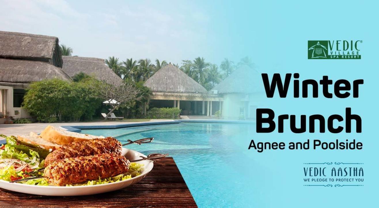 Sunday Winter Brunch - Vedic Village Spa Resort