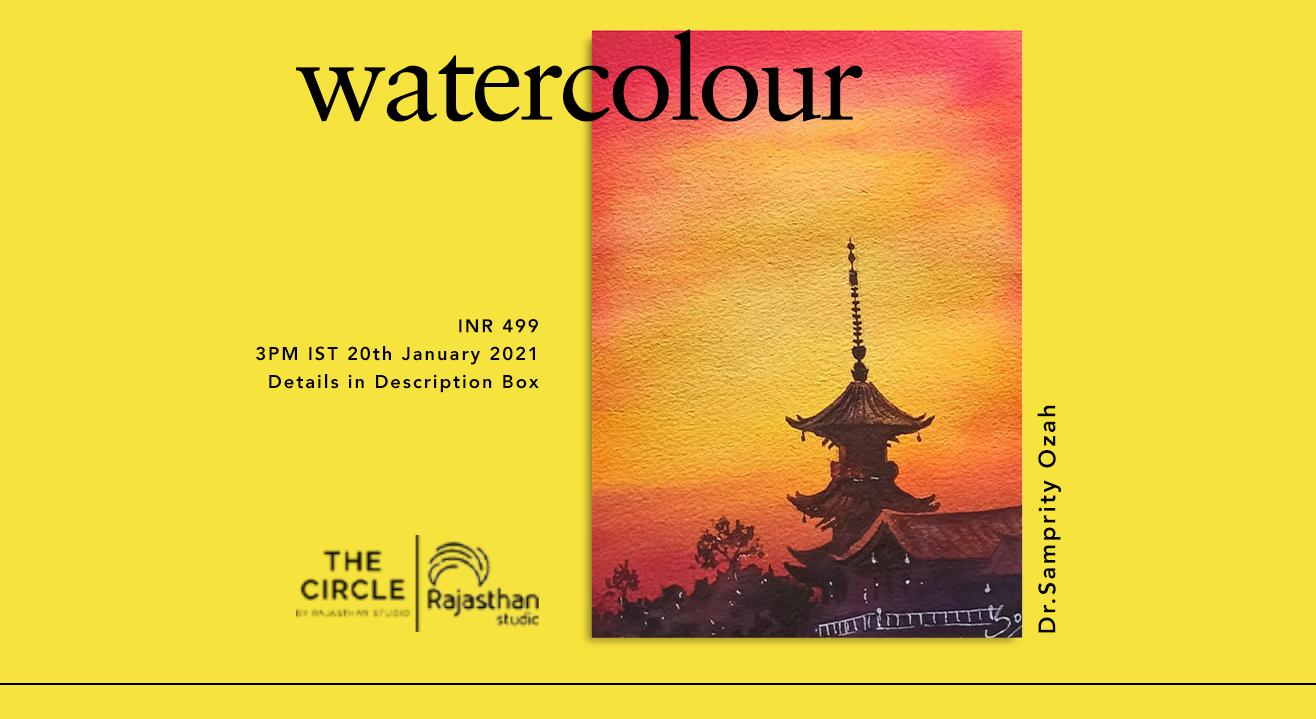 Watercolour Landscapes Workshop by Rajasthan Studio