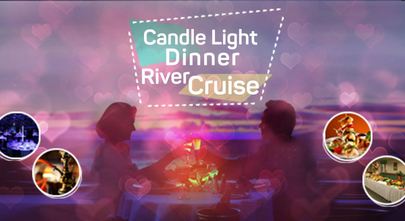 Candle Light Dinner In River Cruise