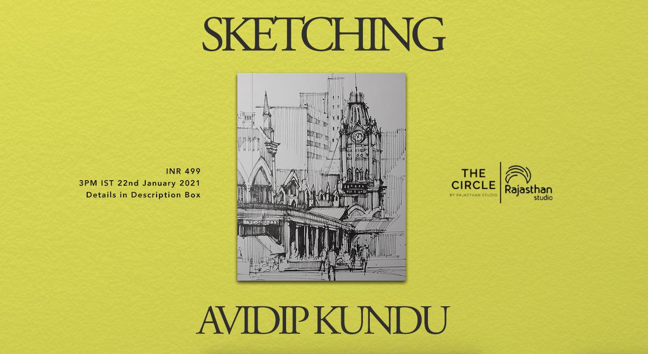 Sketching Workshop by Rajasthan Studio