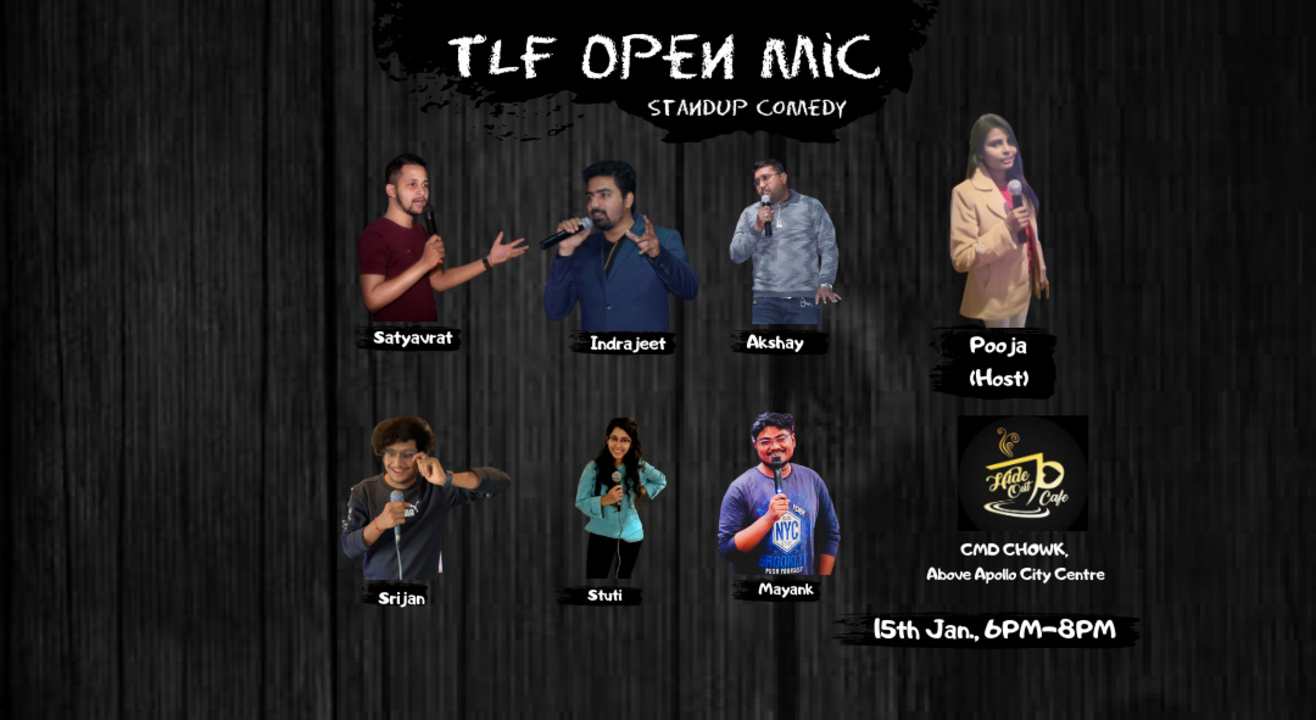 TLF OPEN MIC (HIDE OUT CAFE)BILASPUR