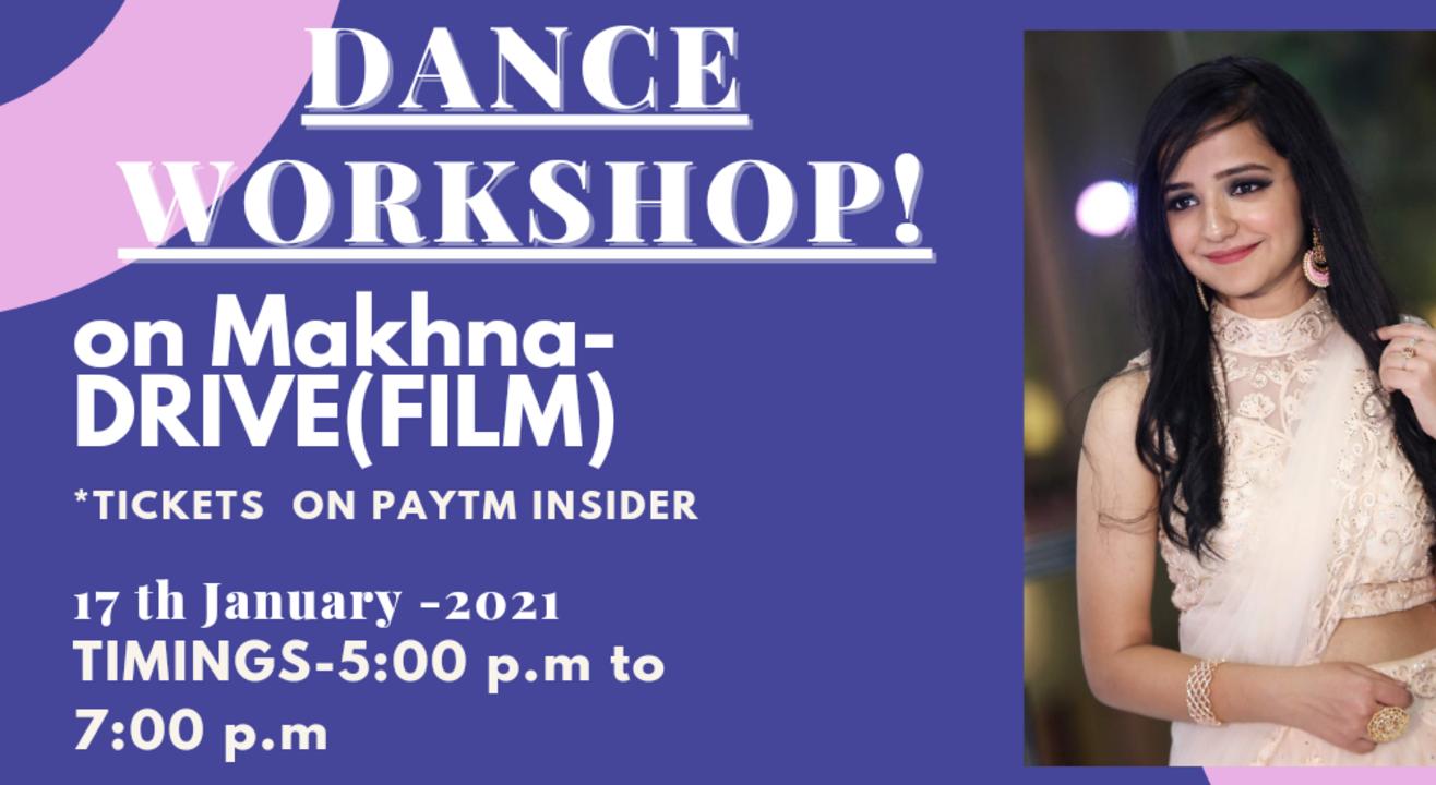 MAKHNA SONG- DANCE WORKSHOP by Mansi Jindal!