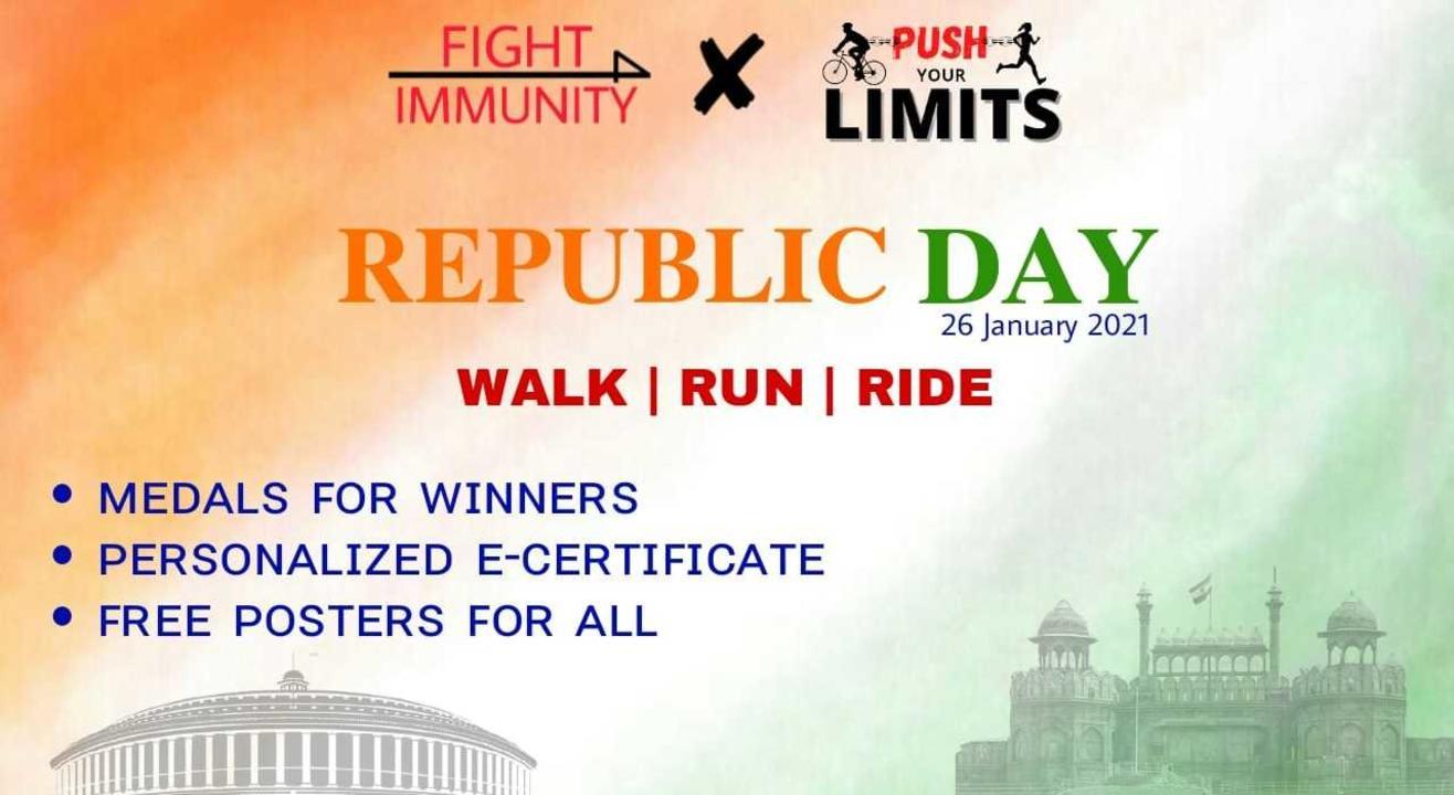 REPUBLIC DAY - WALK/RUN/RIDE