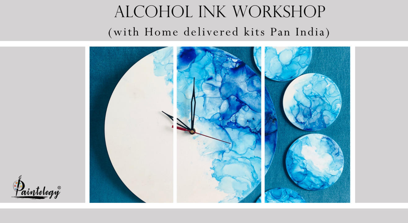 Alcohol Ink Workshop with Kit