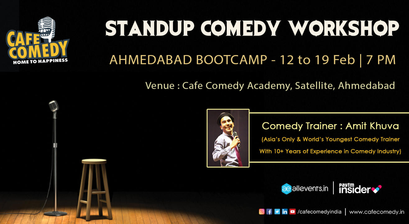 Standup Comedy Workshop : Ahmedabad Bootcamp