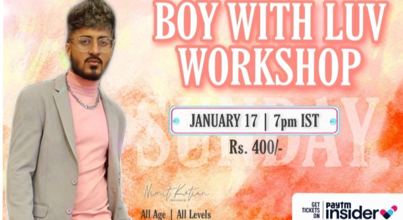 Boy With Luv (BTS) Workshop By Nimit Kotian