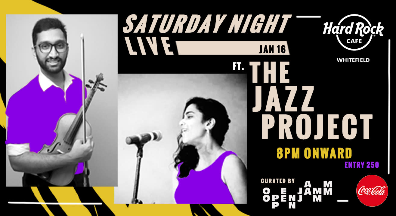 Saturday Live ft. The Jazz Project