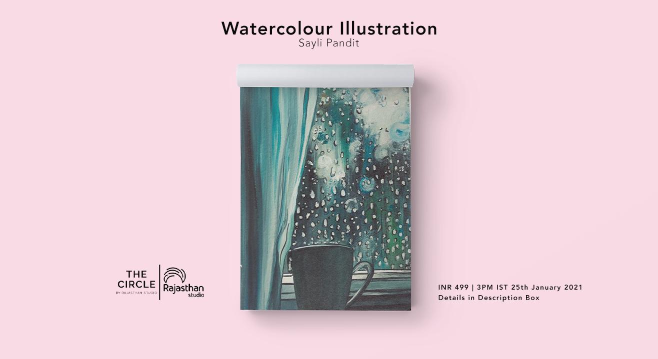 Watercolour Illustration Workshop by Rajasthan Studio