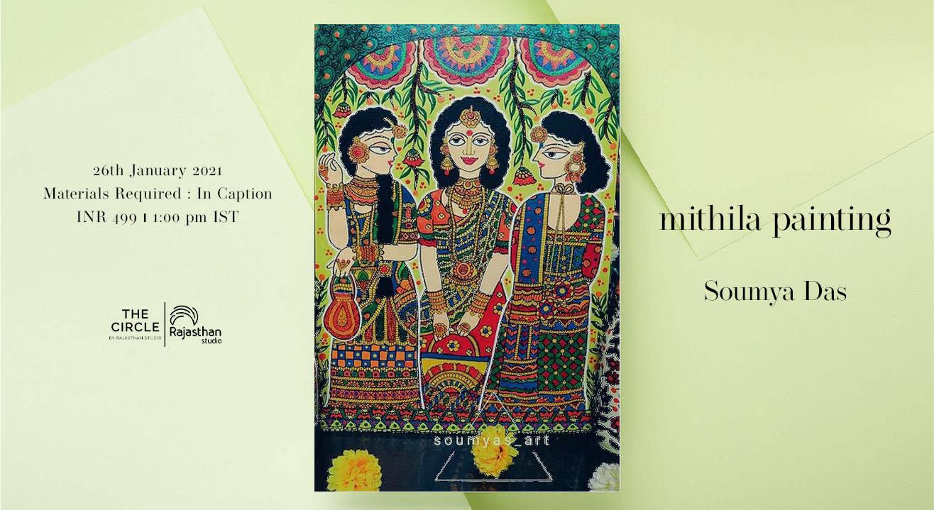 Mithila Painting Workshop by Rajasthan Studio