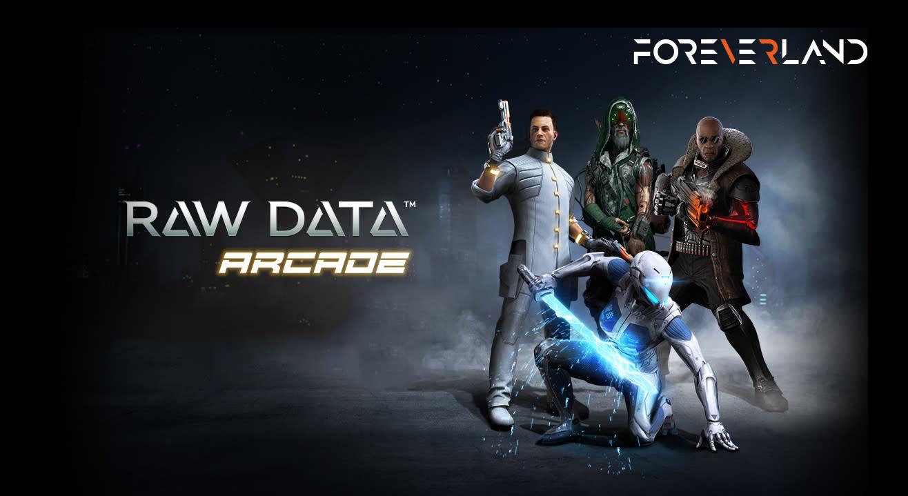 Raw Data: Virtual Reality Game  (50% Off! Use Code VRDATA50)