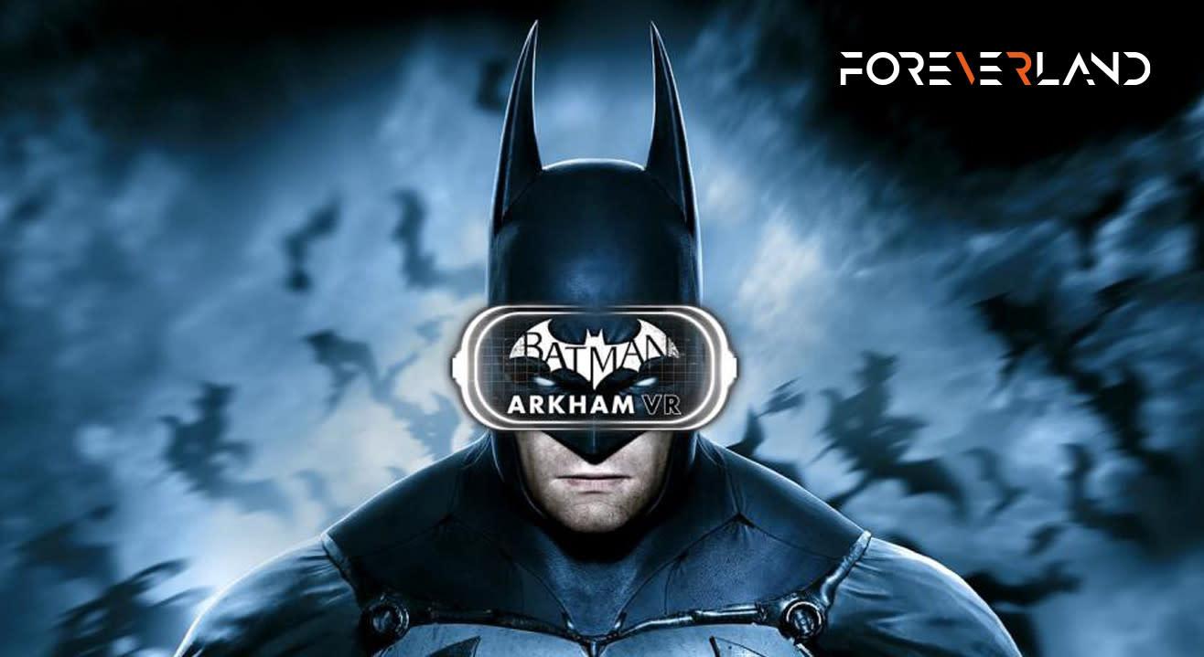 Batman: Arkham - Virtual Reality Game (50% Off! Use Code VRBATMAN50)