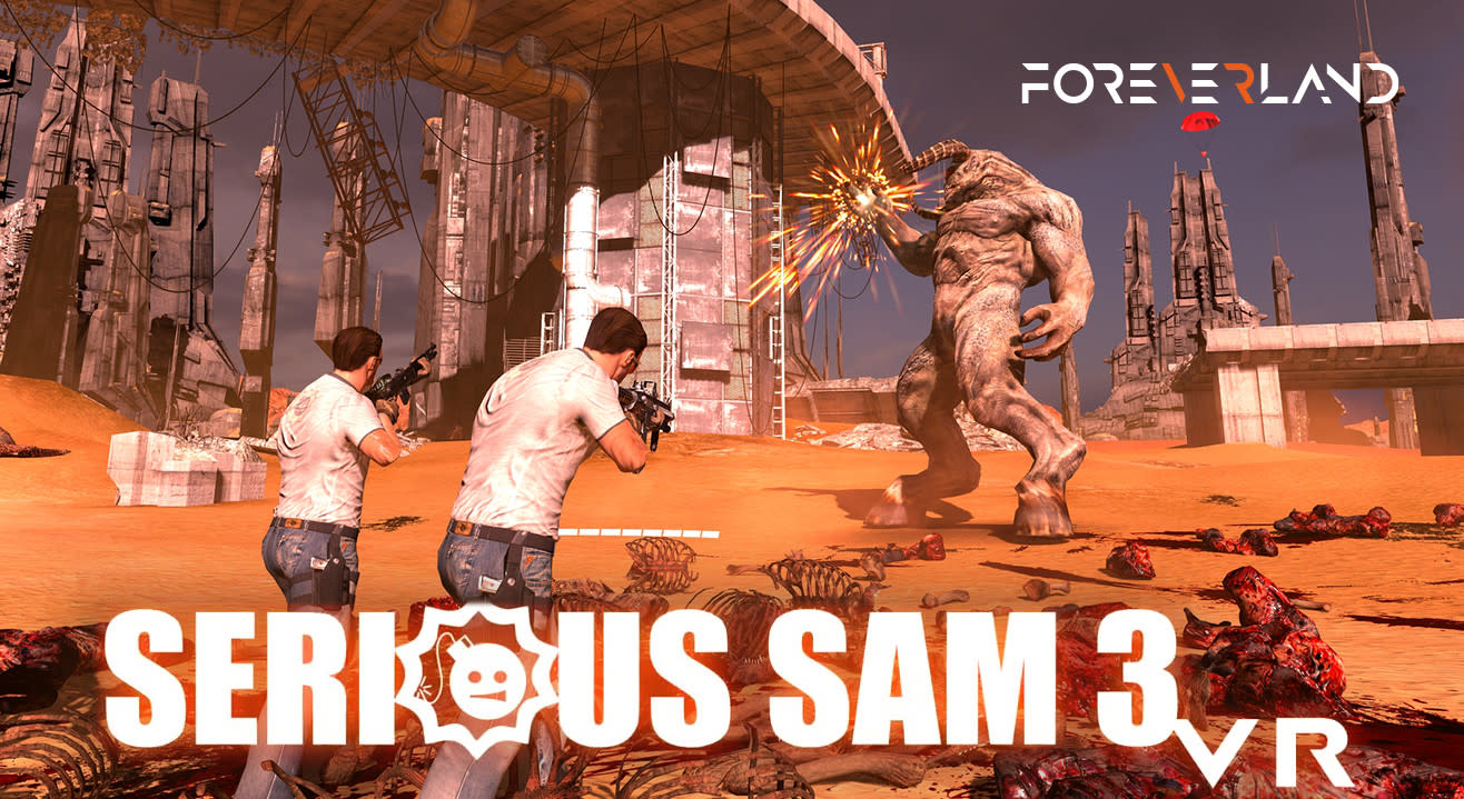 Serious Sam: The Last Hope - Virtual Reality Game (50% Off! Use Code VRSAM50)
