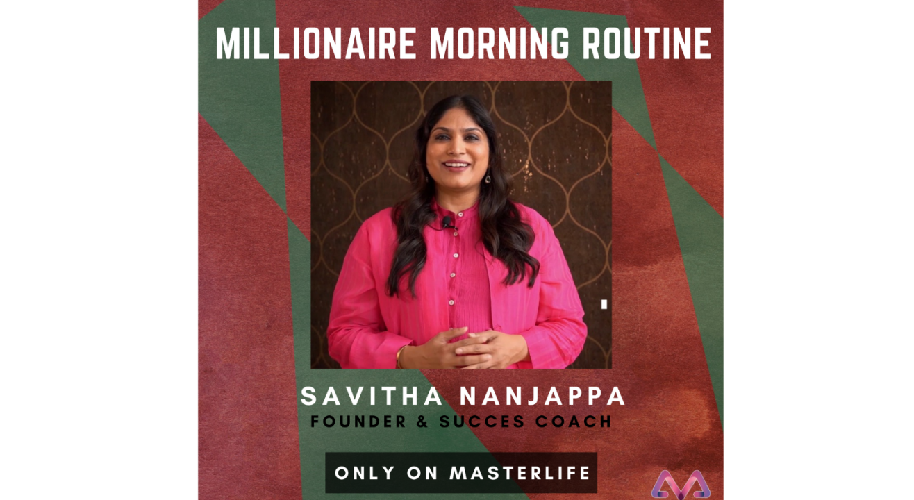 Millionaire Morning Routine