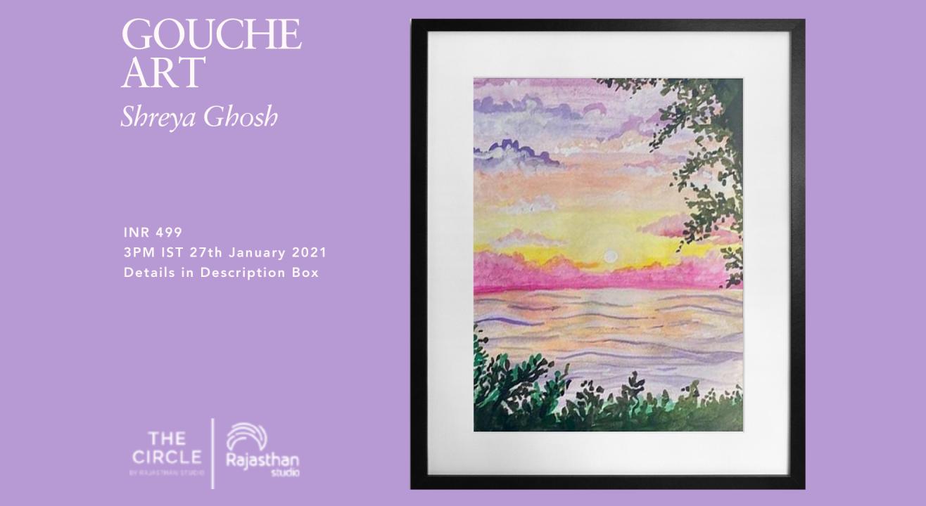 Gouache Art Workshop by Rajasthan Studio