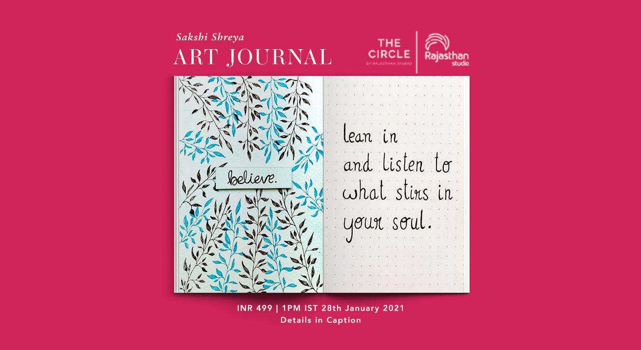 Art Journaling Workshop by Rajasthan Studio