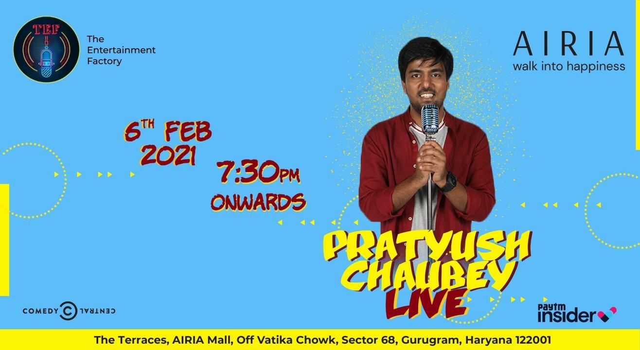 Pratyush Chaubey Live