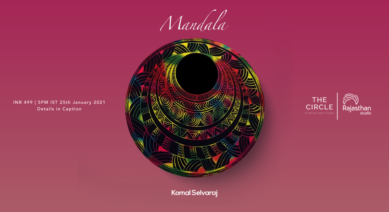Mandala Art Workshop by Rajasthan Studio