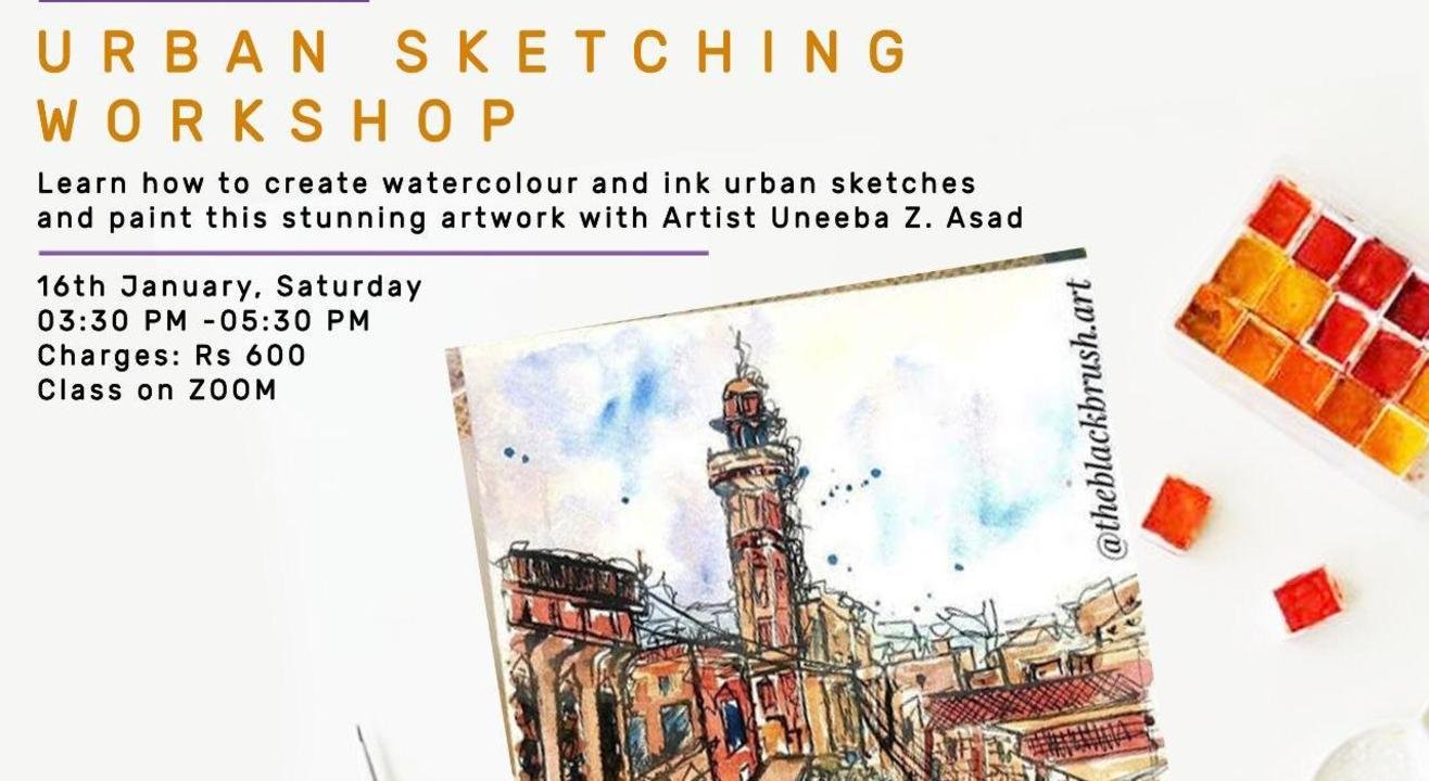 Urban Sketching Workshop