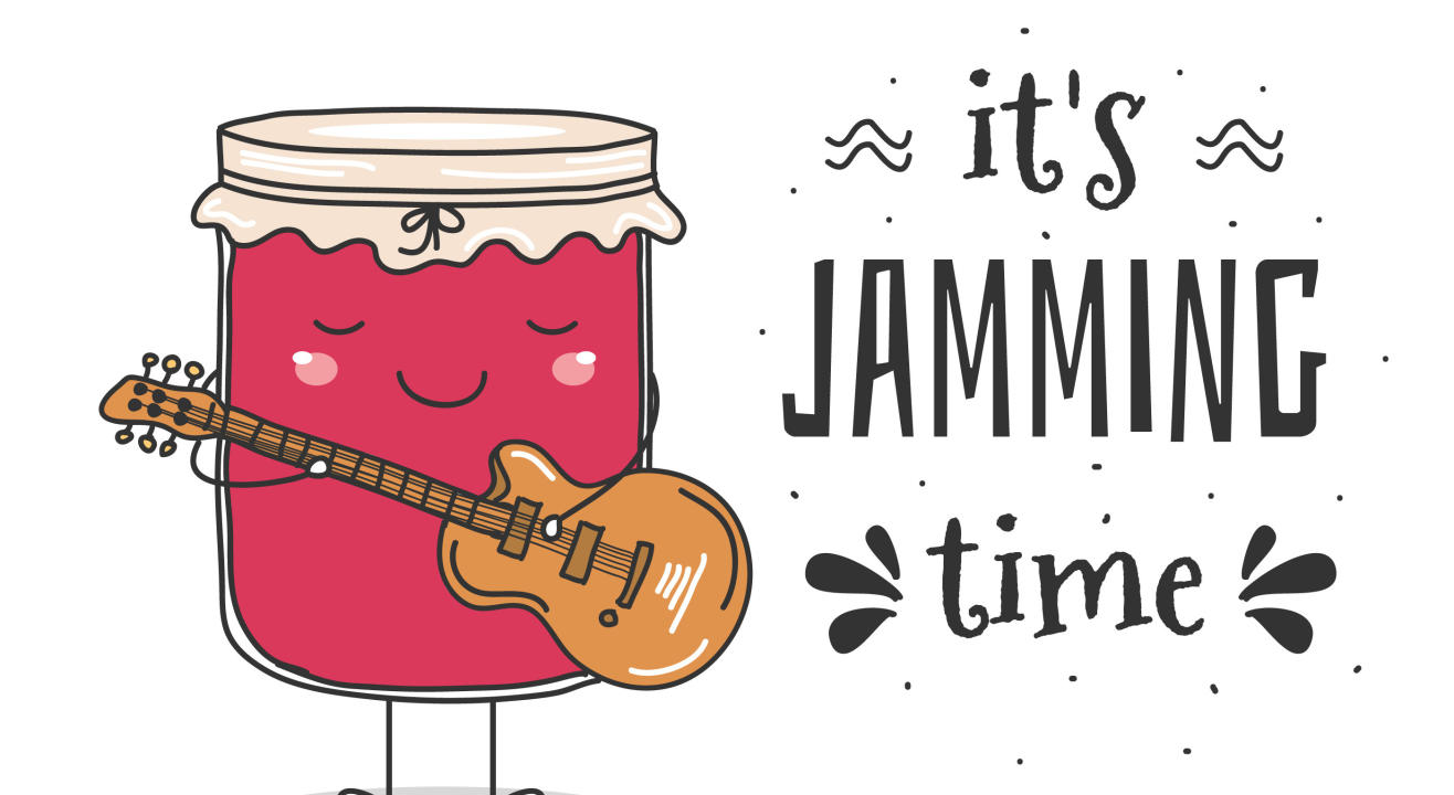 Dialogues with Music : Online Jamming Adda