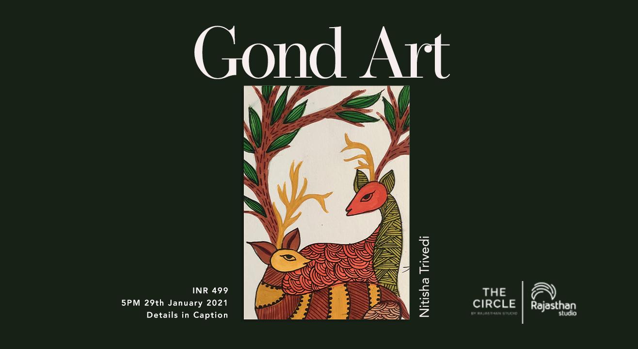 Gond Art Workshop by Rajasthan Studio