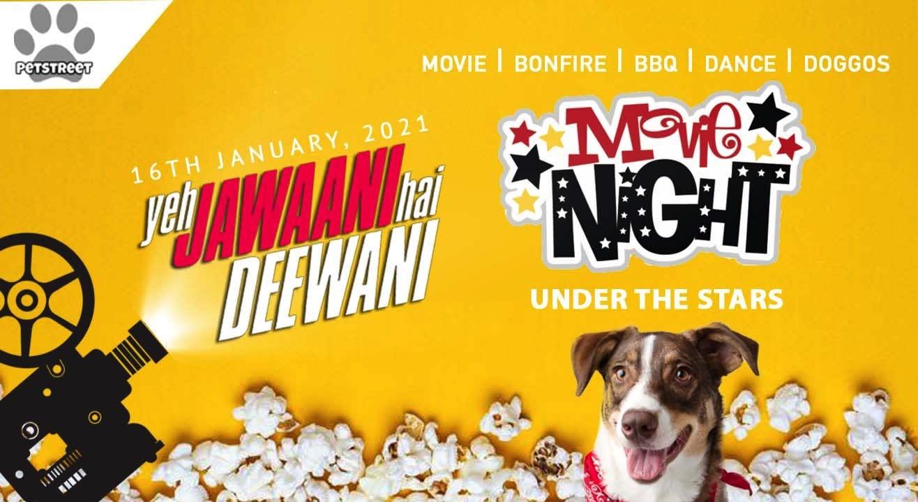 Open-Air Movie Night in a farmhouse in Noida (pet-friendly)