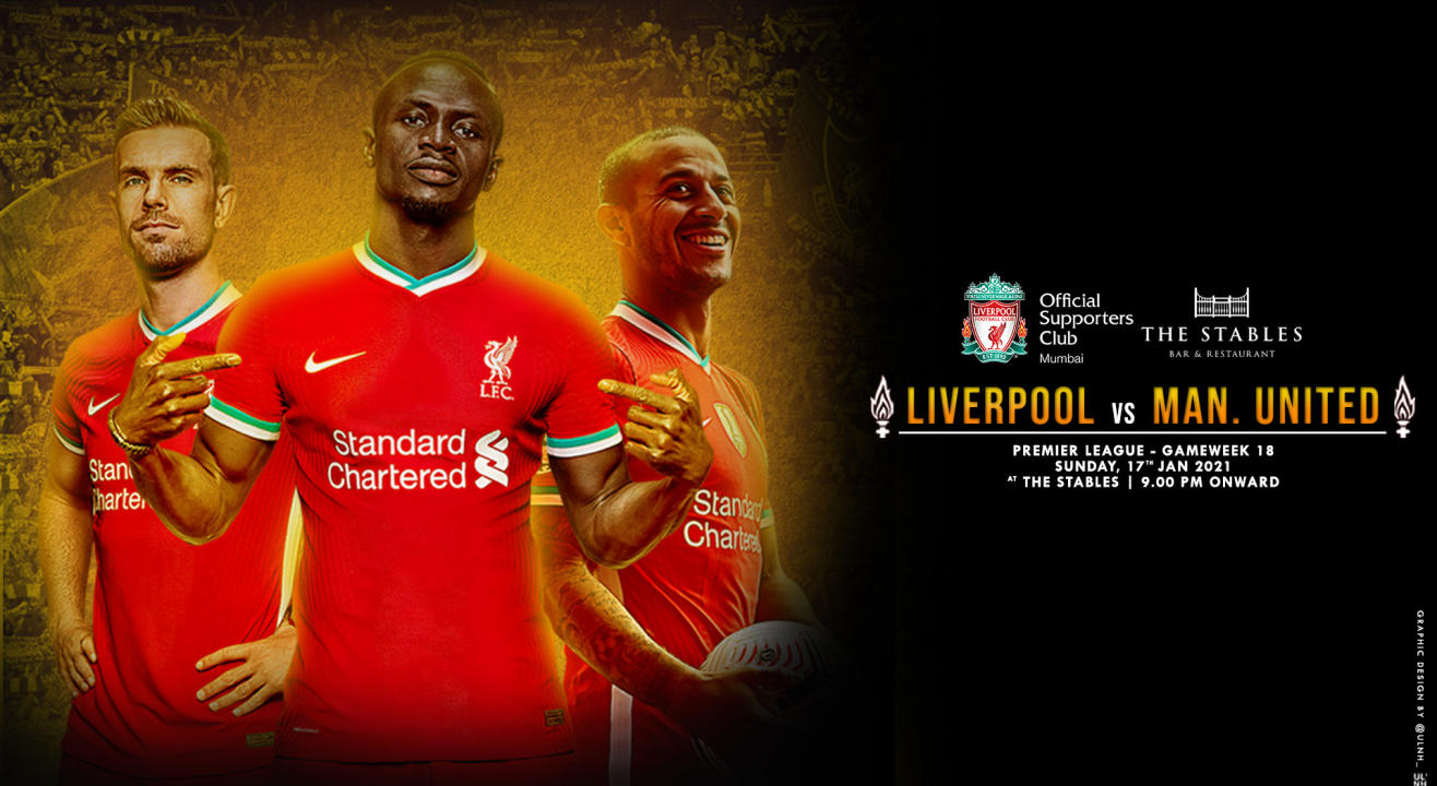 Liverpool vs Manchester United | Live Screening Mumbai