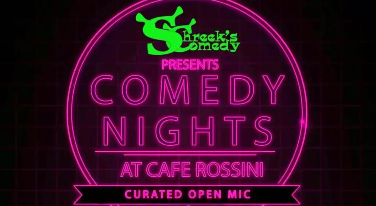Comedy Nights @ Cafe Rossini