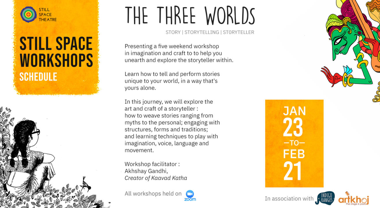 The Three Worlds - Online Storytelling Workshop