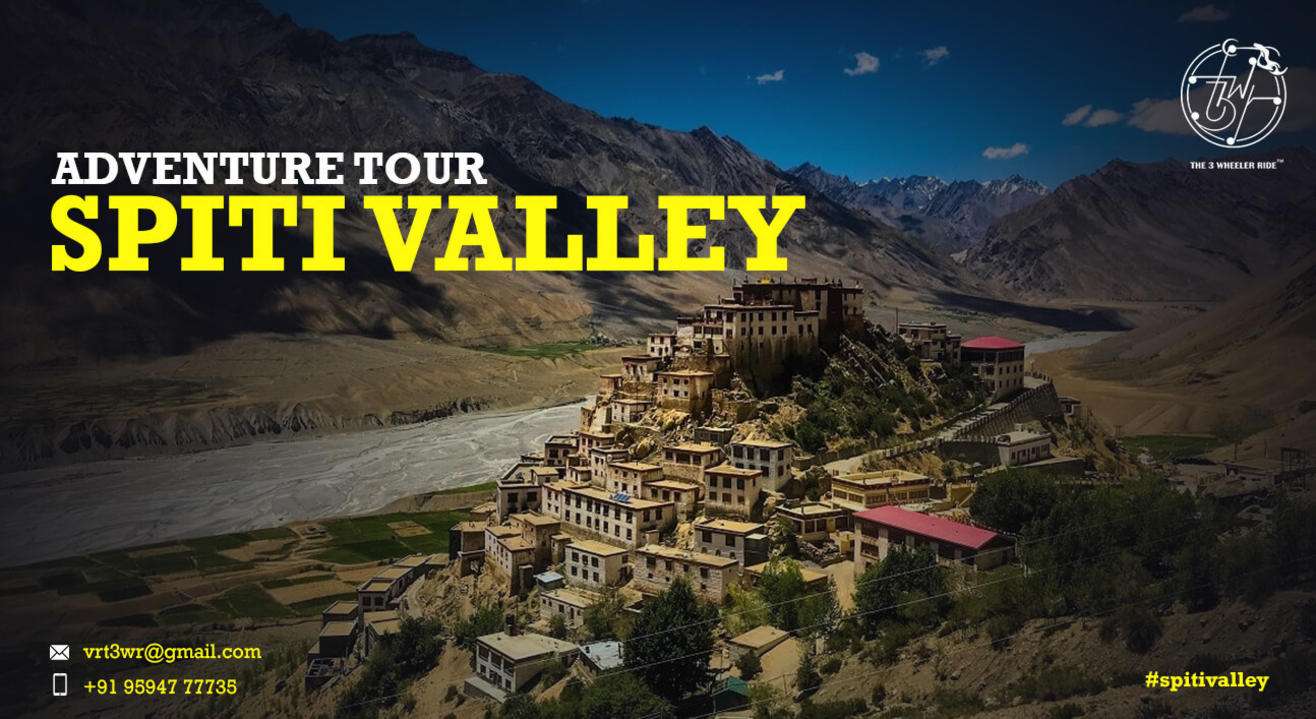 Trip to Spiti Valley - T3WR