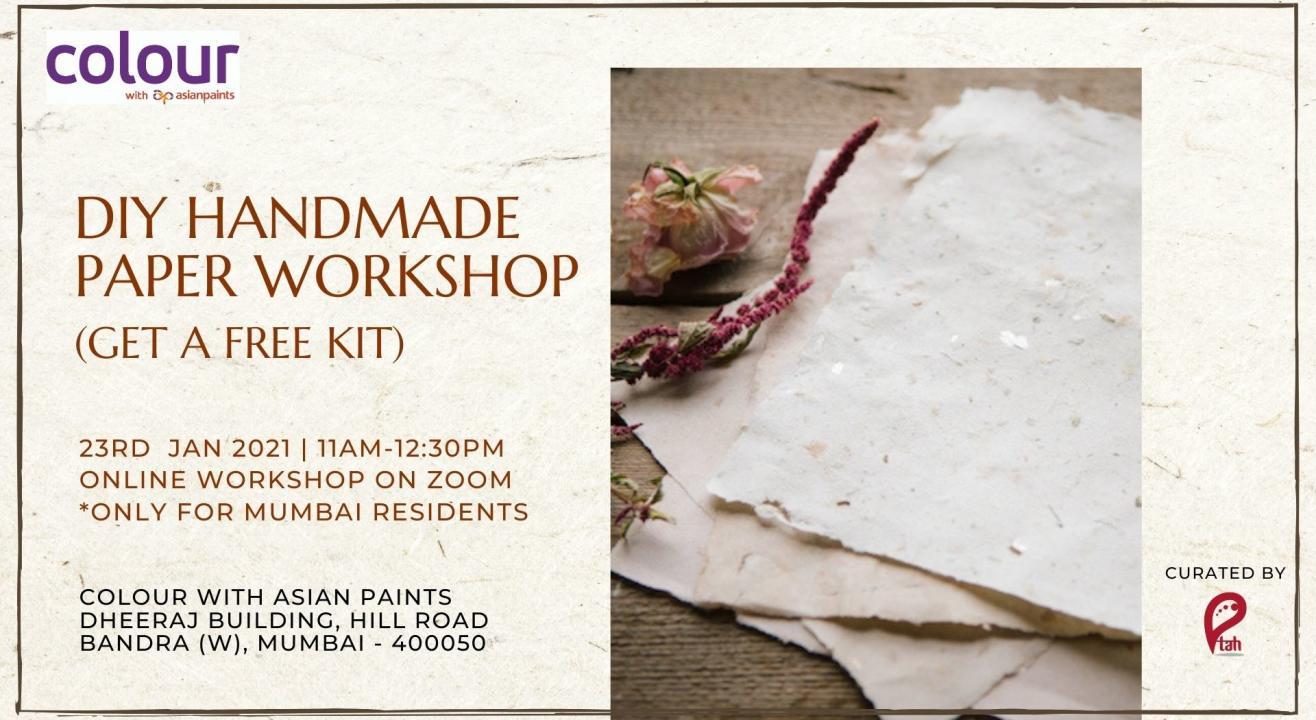 DIY Handmade Paper Workshop